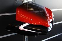 "B4-B5 Cupolino ""Deflet. F1 Compact Black/white"" (F1 Front Fairin"
