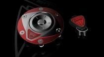 F3-B3-RIVALE Tappo Serbatoio Lock shining-red