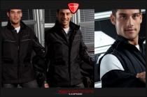 Black teck fabric jacket mod. Legend Touring