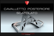 Rear boxed stand for Ducati