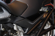 B4 Right fuel tank panel in carbon fiber ( personal graphics Star.)