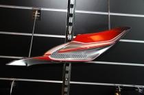 B4 Fianchetto sottosella sx carb. (red-gray-carbon) RTCI00003