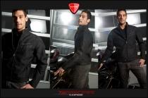 Black teck fabric jacket mod. Legend