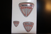 Gray resined decals kit (3 pcs)