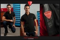 Short sleeves black Teck Polo shirt