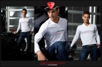T-Shirt Evo M.L. in cotone Bianca