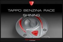 F4-B4-Ducati Tappo benzina Race shining