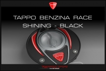 "F4-B4-Ducati ""Race shining – black"" Fuel Tank Cap"