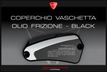 F4-F5-B4-B5 Coperchio vaschetta olio frizione shining-black