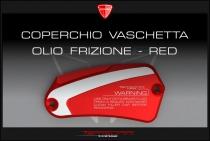 F4-B4-F5-B5 Handlebar clutch oil cap shining-red