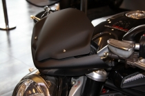 "B4-B5 Cupolino ""Deflettore F1 Compact"" nero opac.(Front fairing)"