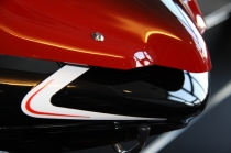 "B4-B5 Cupolino ""Deflettore F1 Black/white"" (F1 Front Fairing)"