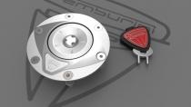 F3-B3-RIVALE Tappo Serbatoio Lock shining