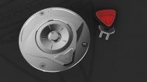 F5-B5-DUCATI Tappo Serbatoio Lock shining