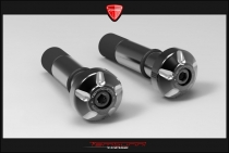 F4-F5-B4-B5-F3 Kit Stabilizzatori manubrio black-shining