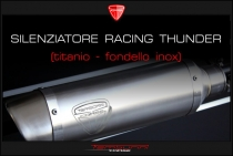 B4-B5 Racing Thunder silencer