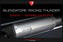 B4-B5 Silenziatore racing Thunder (not available/non disponibile