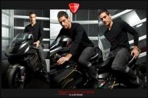 Long sleeves black cotton Evo T-shirt